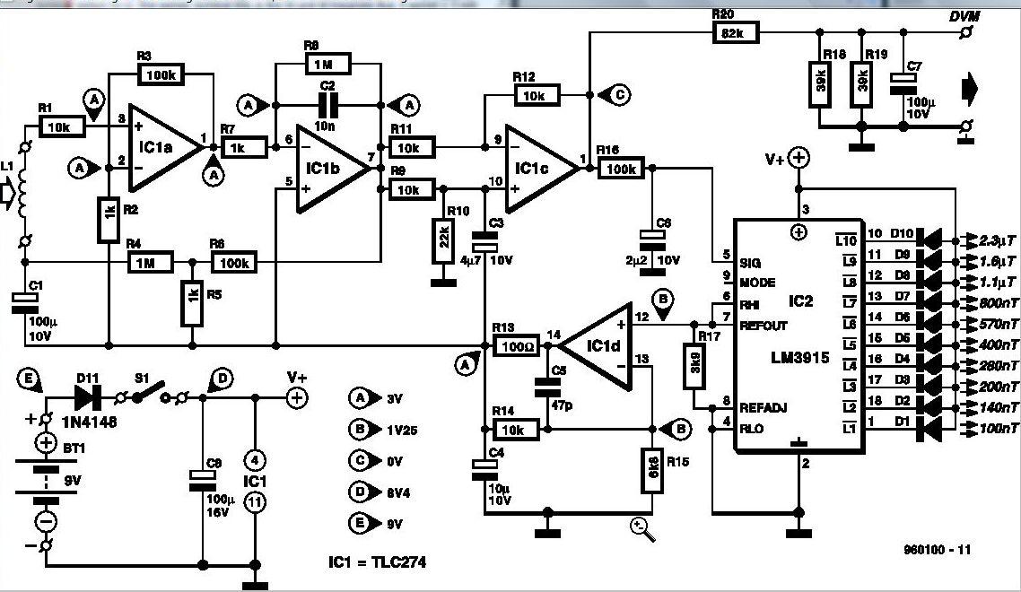 emf detector circuit