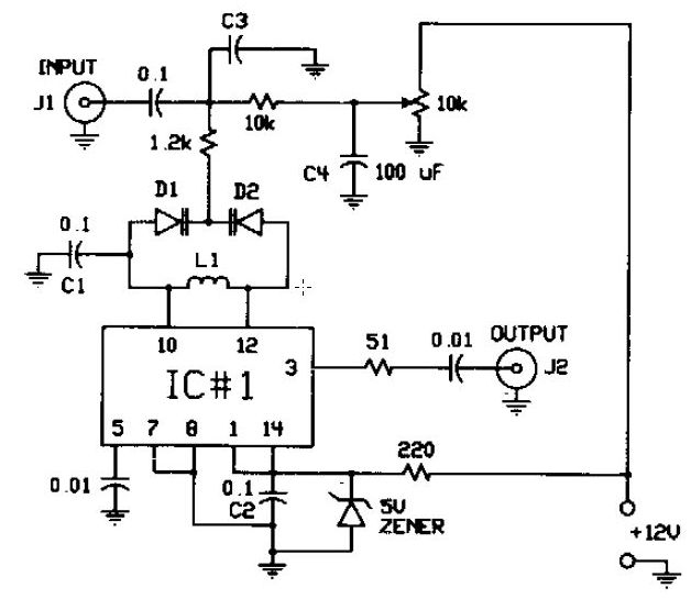 modulator circuit diagram  u2013 economical home lighting