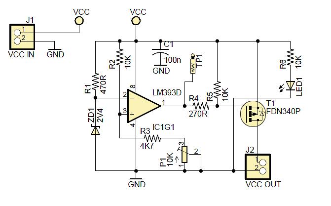 Power Monitoring Circuits : V power supply voltage monitoring circuit
