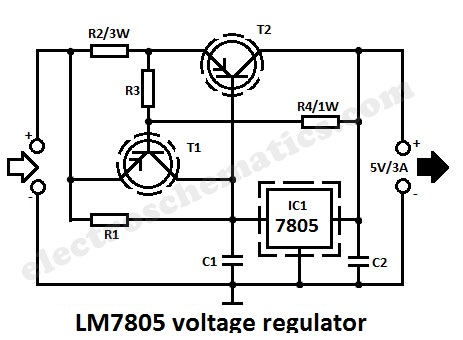 voltage regulator, wiring diagram