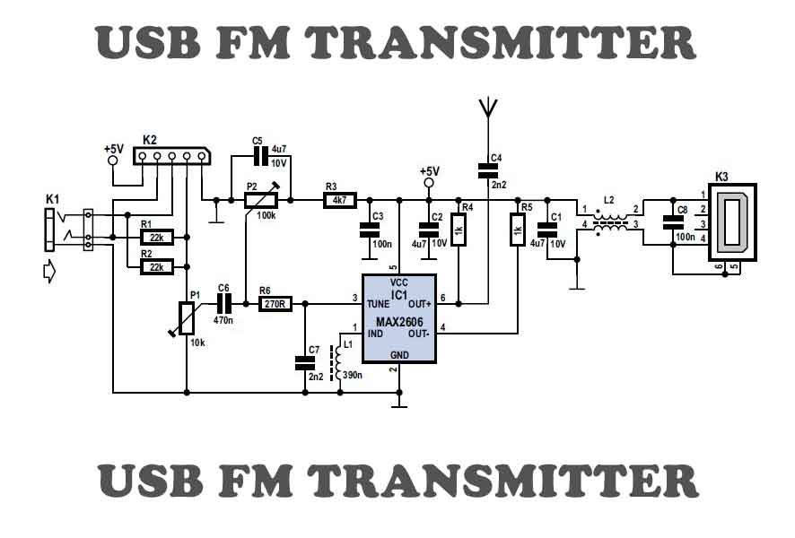 How To Build An Ir Sensor as well Capacitor Leakage Tester as well Guitar Transmitter Ee Tip 102 likewise Ham Radio Antennas moreover Detektorradio Bauen. on basic fm transmitter schematic