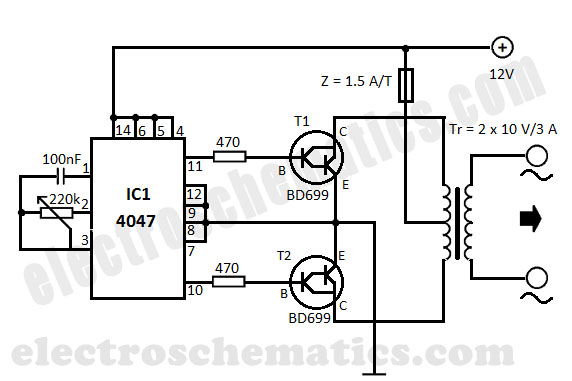 dc-to-ac-converter Home Electrical Wiring Diagrams Volts on