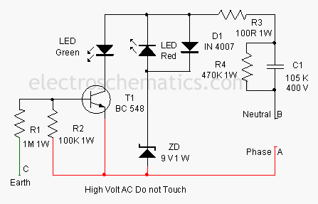 electrical miracles earth fault indicator circuit rh electricalmiracles blogspot com
