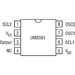 um3561 siren generator design