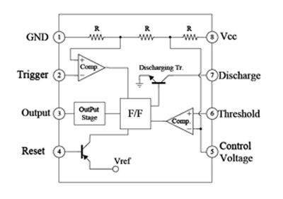 Automatic Gate Lamp Circuit