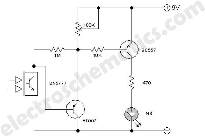 improved infrared detector circuit