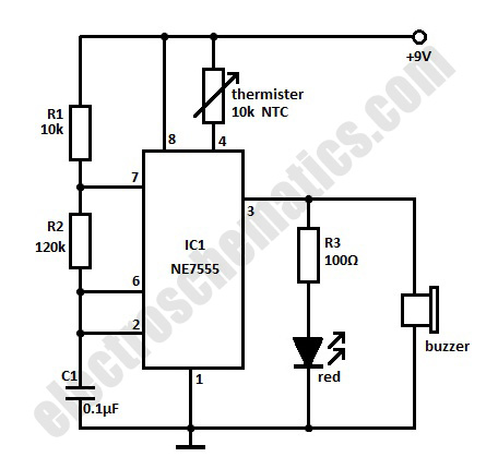 Room Temperature Indicator Circuit Diagram together with Sound via light additionally Tda2003 Audio  lifier Circuits as well 4sbfd Dodge Durango R T 2001 Dodge Durango 5 9 R T Transmission furthermore Greenhouse Heater Temperature Control. on sensor indicator