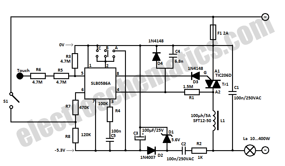 light dimmer circuit led light dimmer circuit triac light dimmer circuit  light dimmer circuit diagram led
