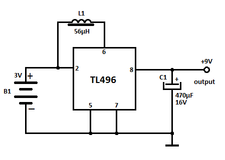 25 V Adjustable Regulator Using Lm117 Ic also Difference Between Step Up And Step Down Transformer likewise Lm2673 5v 3a Switching Voltage Regulator as well 12Vac to 220vac inverter circuit 10172 also Boost Converter Circuit Diagram. on step up voltage converter circuit diagram
