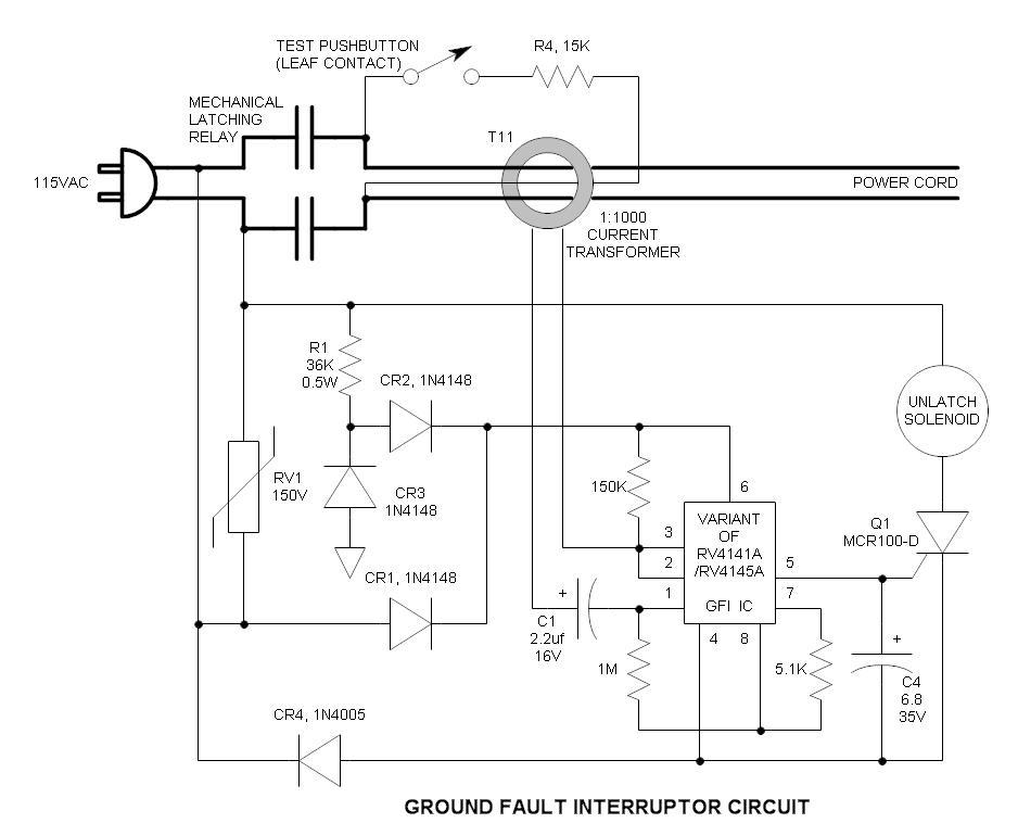 Ground Fault Circuit Interrupter : Gfi ground fault interrupter wall wart