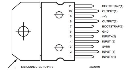 tda2005 контактный связи