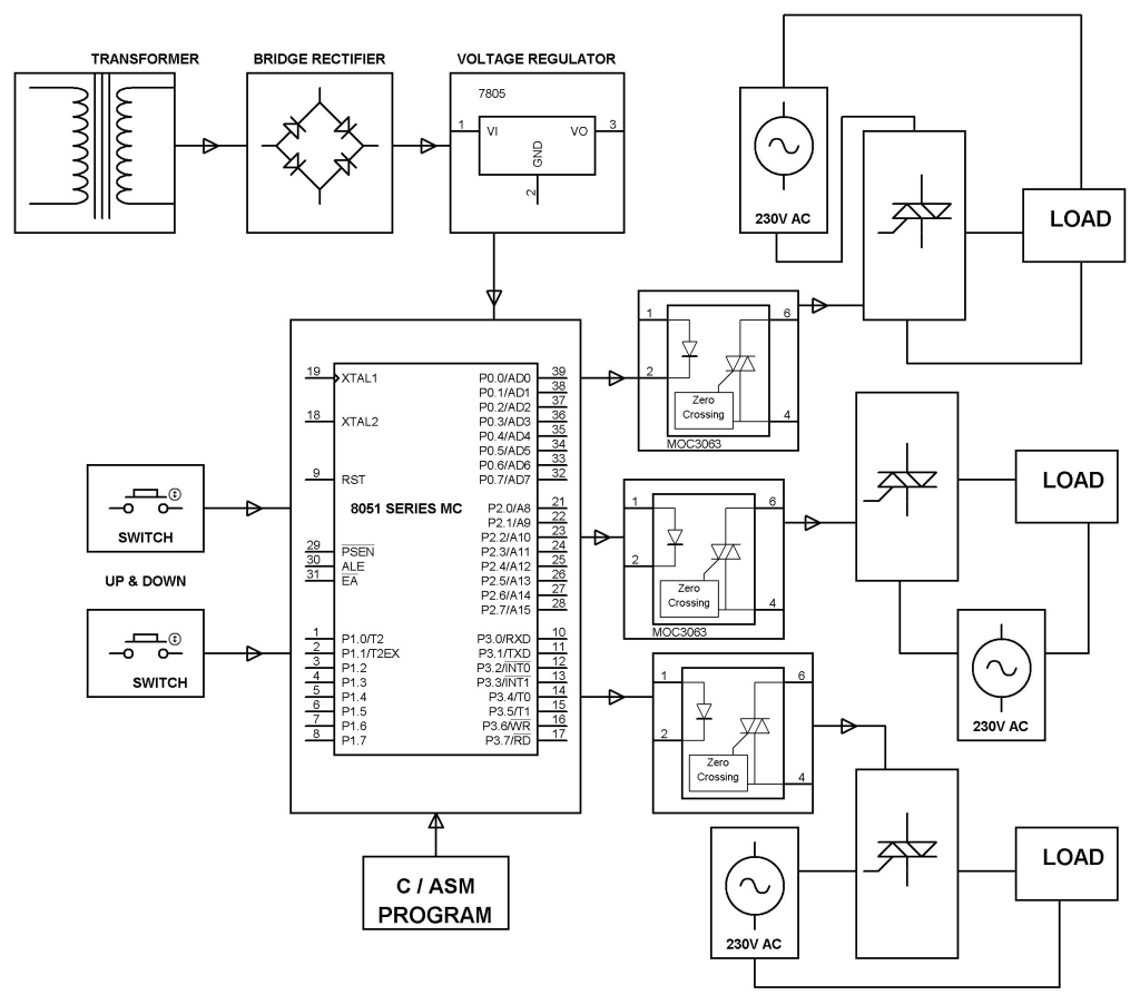 Three Phase Solid State Relay Project Kit